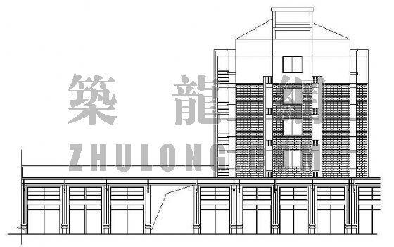 底层商业住宅楼全套施工图纸