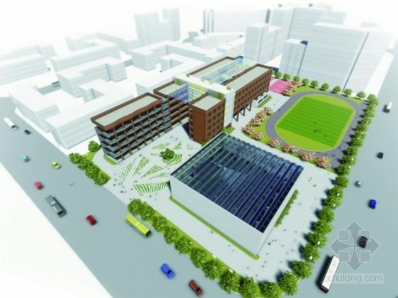 [上海]现代风格校园规划及单体建筑设计方案文本(知名建筑事务所)