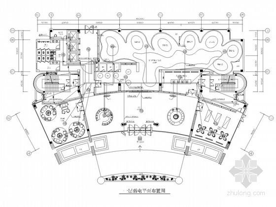 高层办公楼弱电智能化系统施工图21张