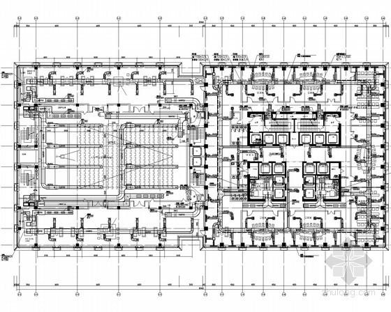 VAV空调系统设计说明资料下载-[辽宁]超高层办公楼暖通全套系统设计施工图(VAV系统 高压微雾加湿)