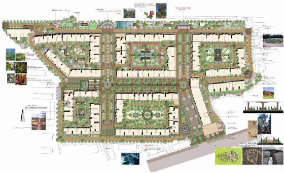 昆明小区景观概念性设计方案(2)