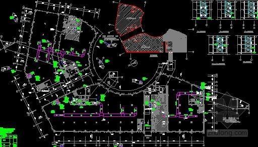 多层酒店厨房空调通风及防排烟系统设计施工图