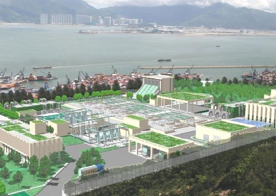 香港大型污水处理厂关键技术研究及应用设计、施工与运营
