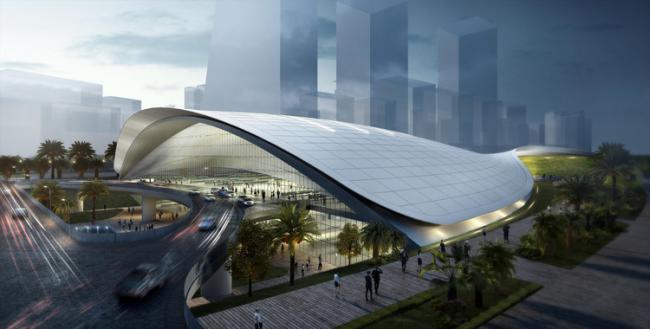 新加坡高铁站设计方案