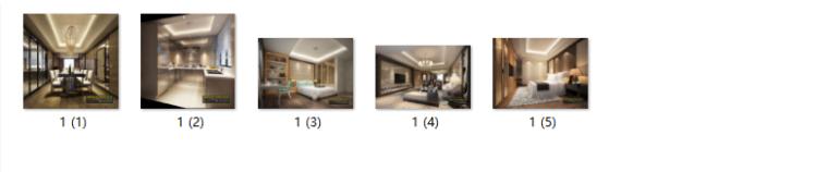 [广东]中式风格样板房设计CAD施工图(含效果图)-【广东】中式风格样板房设计CAD施工图(含效果图)缩略图