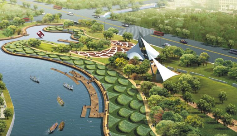 [浙江]宁波鄞州中心区双环景观设计方案