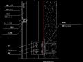 铝幕墙节点图
