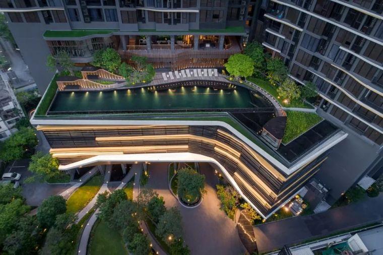 The Line Mochit高层住宅景观设计,曼谷 / Shma