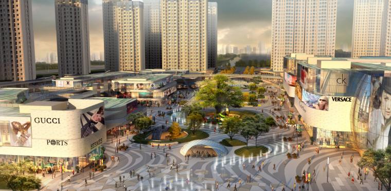 [浙江]宁波银泰匯城市规划景观概念性设计(现代风格)_3
