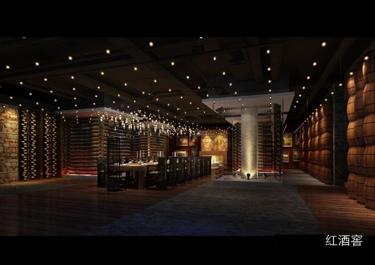 高档典雅红酒展示厅设计方案图-设计图 (19).jpg