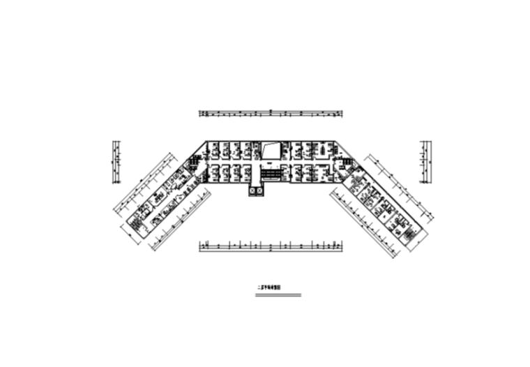 博爱医院室内装修设计施工图及效果图(60张)