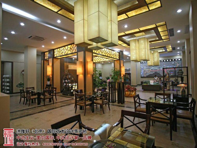 新中式售楼处装修效果图,高档奢华富有内涵_3