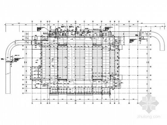 [湖北]体育馆游泳池给排水施工图纸