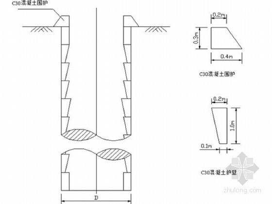 [湖南]高速互通立交桥人工挖孔桩基础施工技术交底