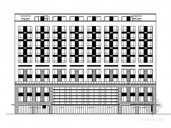 [苏州]大型现代风格甲级医院综合楼建筑施工图(知名设计院 2015年图纸)