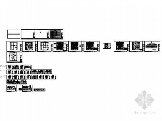 [北京]中外合资公司家具现代专卖店装修施工图资料图纸总缩略图