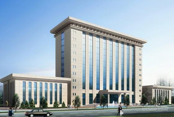 [毕业设计]江苏某3层办公楼建筑工程量计算及清单编制实例(2014年)