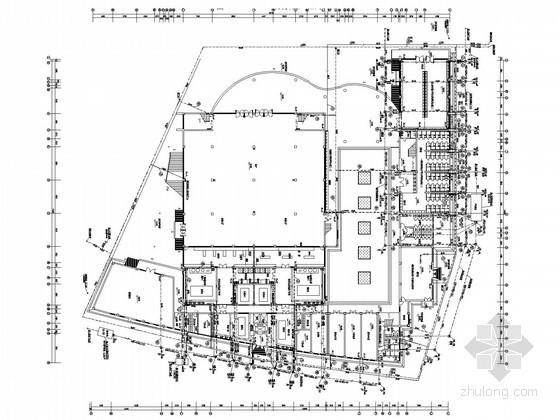 学校食堂建筑给排水施工图