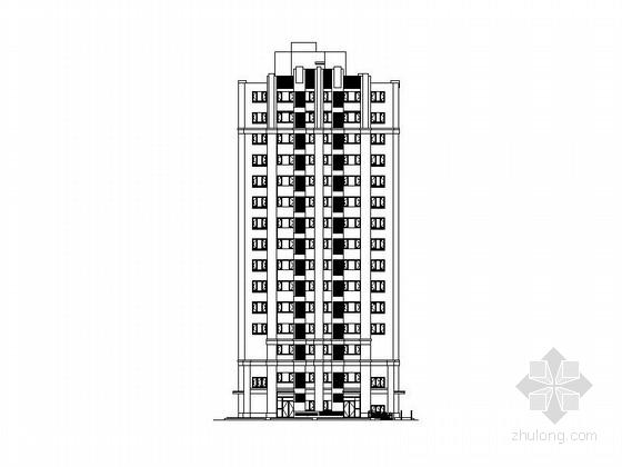 [北京]15层现代板式住宅建筑施工图(知名设计院)