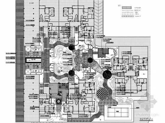 [广东]某小区中心花园景观工程施工套图