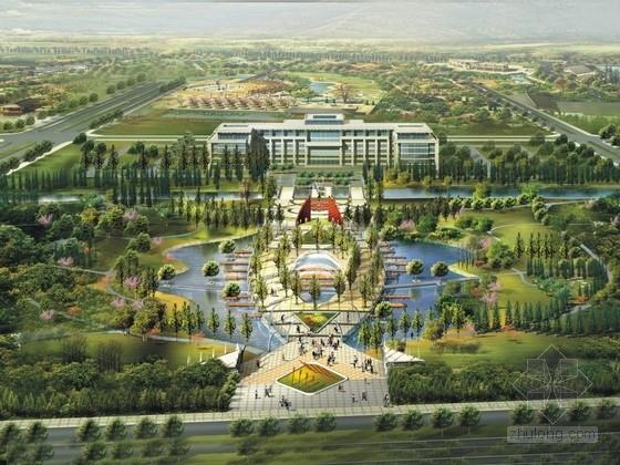 [浙江]水墨江南生态滨水景观规划设计方案