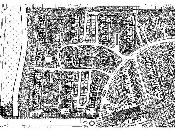 [青岛]魅力新城居住区景观规划设计施工图