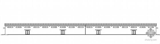 安徽淮北某钢筋混凝土成品库建筑施工图