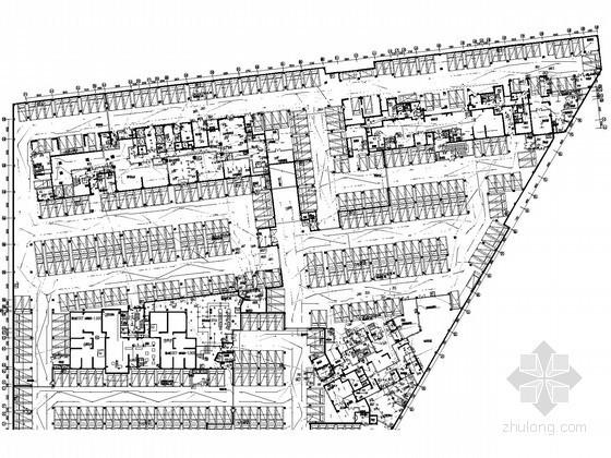 [西安]商业住宅楼全套电气施工图纸(商业 办公住宅)