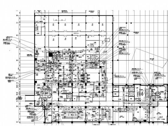 [河北]醫院高層建筑空調及消防系統設計施工圖(平面圖全面)
