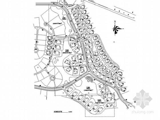 [东莞]高级住宅区湖岸分区园林景观工程施工图
