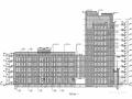 [安徽]12层框架结构公共服务用房石材幕墙施工图(含计算书)