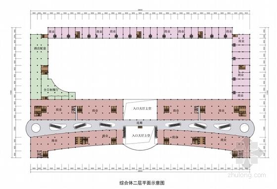 [甘肃]高层城市综合商贸广场建筑设计方案文本(多个方案)-高层城市综合商贸广场各层平面图