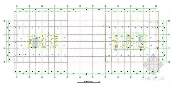 [河北]高层办公楼工程冬季施工方案(测温平面图)