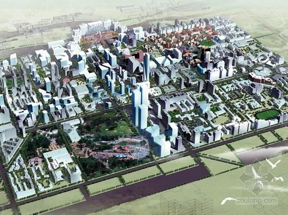 [辽宁]城市核心区地块规划设计方案文本