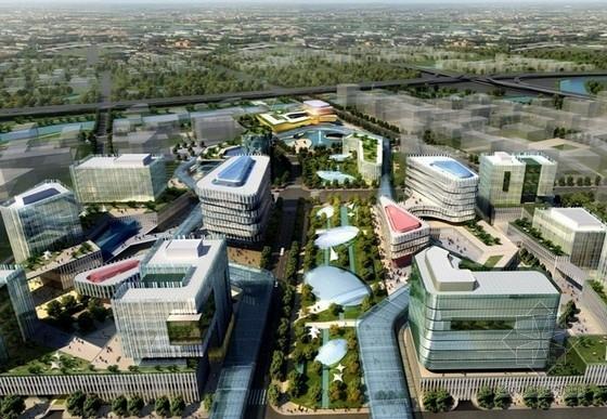 [上海]商务办公区规划及单体设计方案文本