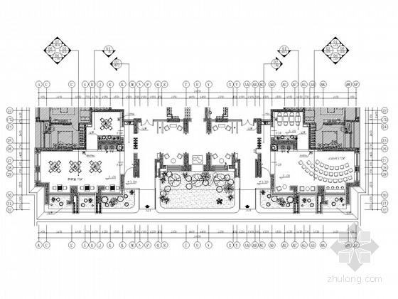 [重庆]高档休闲娱乐大堂及棋牌室室内装修施工图