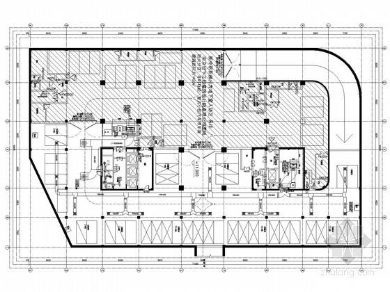 [江苏]高层办公建筑空调通风及防排烟系统设计施工图
