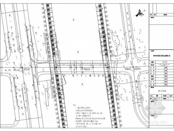 33+50+33米三跨连续梁桥施工图(钻孔灌注桩基础)
