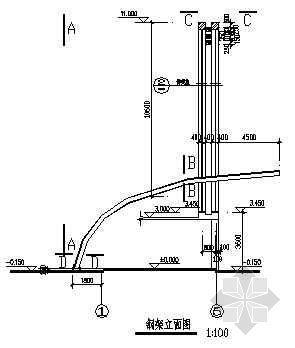 大门结构设计图纸