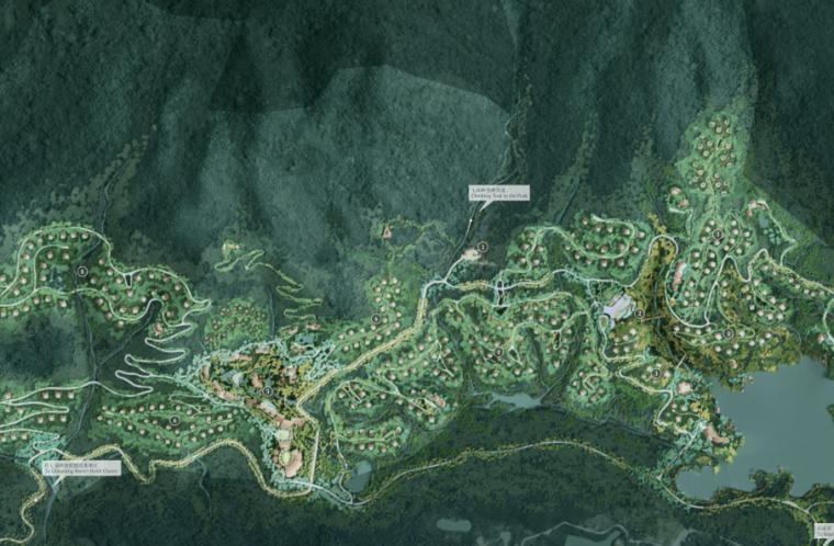 [海南]三亚保亭半山半岛雨林度假酒店景观规划设计-AECOM