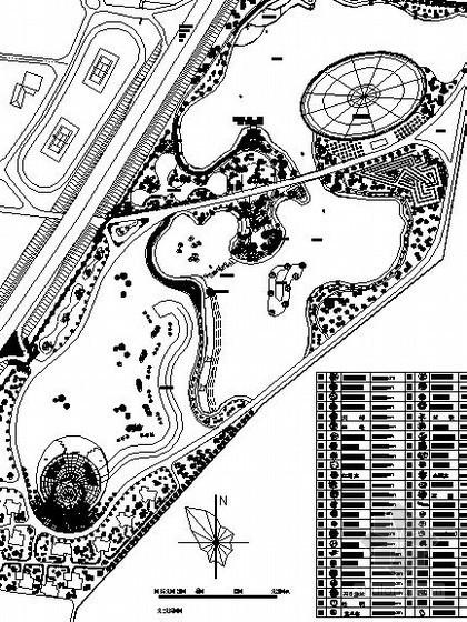 [大连]某农业生态园景观工程施工图设计