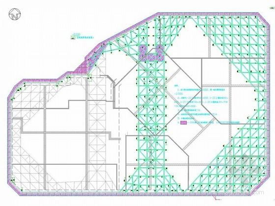[浙江]厚淤泥地区17米深基坑桩加三道混凝土支撑设计方案(通过专家论证)