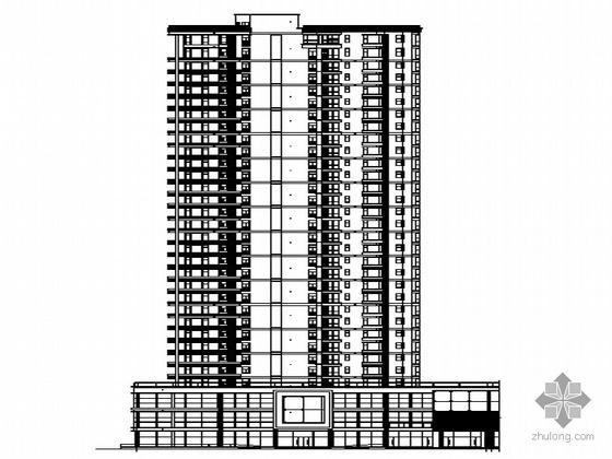 [海宁市]某三十二层商住楼建筑施工图