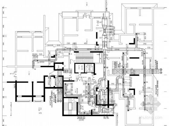 采暖管网施工图资料下载-高层住宅建筑采暖通风系统设计施工图