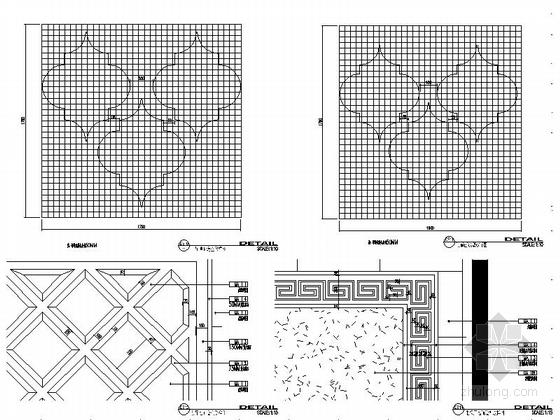 [甘肃]园林式星级宾馆室内装修设计节点施工图