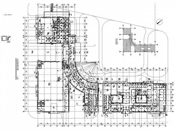 [深圳]多层公共建筑空调通风防排烟施工图设计和燃气管道系统设计(大院出品)