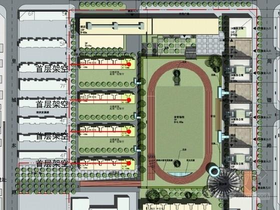 [陕西]特色空间体育场景观方案设计
