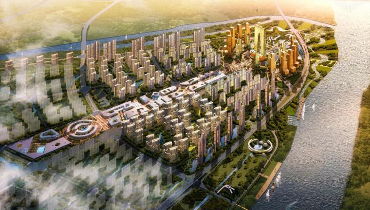 [江苏]现代风格综合性新格局商业区建筑设计方案文本