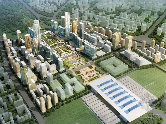 [成都]城市核心区商务概念性规划设计方案文本