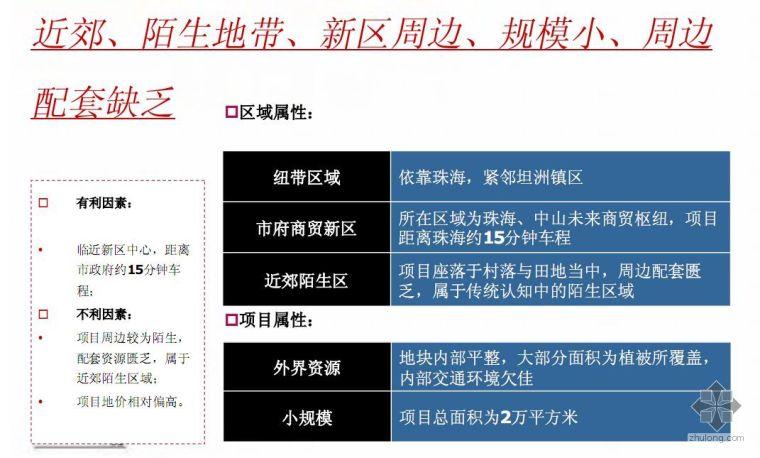 广东中山某地块前期策划报告(2007)